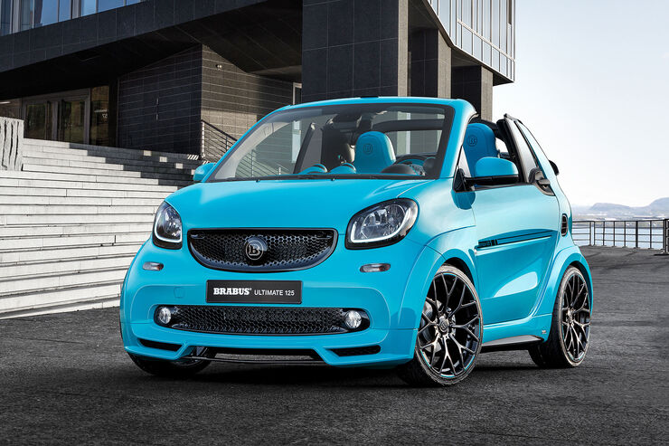 smart fortwo brabus ultimate 125 cabrio 125 ps im. Black Bedroom Furniture Sets. Home Design Ideas