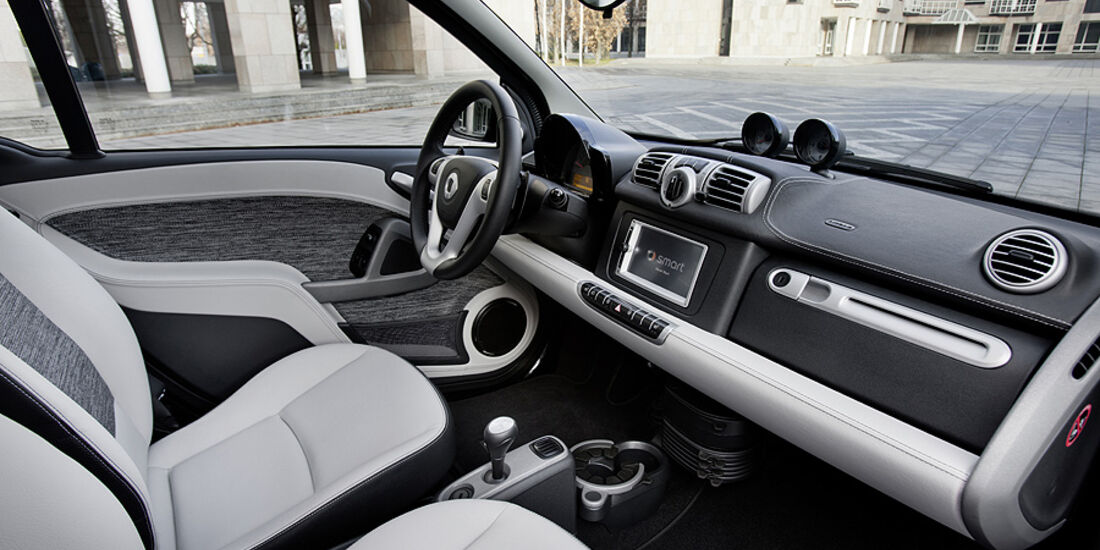 Smart Fortwo Facelift 2012 Innenraum, Cockpit