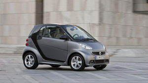 Smart Fortwo Facelift 2012 Seitenansicht
