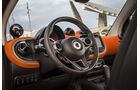 Smart Fortwo, ams, Fahrbericht, Cockpit