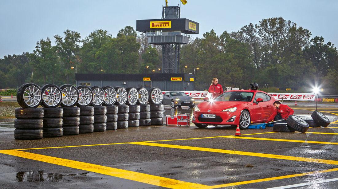 Sommerreifen 2017 - Test - Toyota GT86