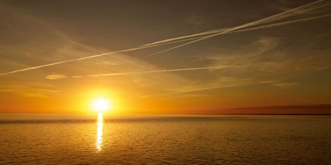 Sonnenuntergang, Meer