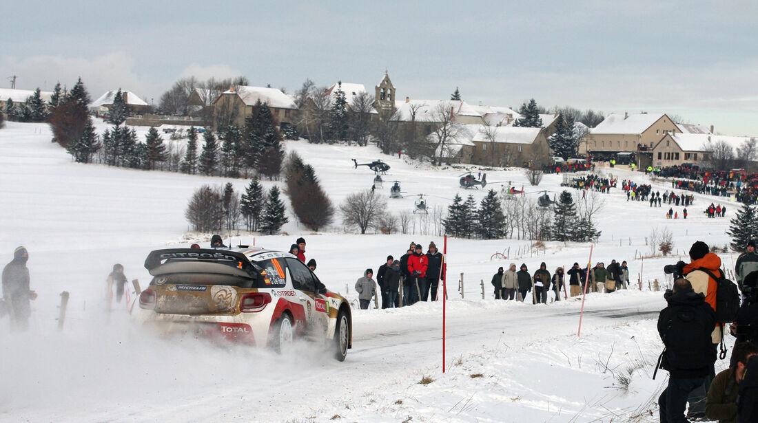 Sordo Citroen Rallye Monte Carlo 2013