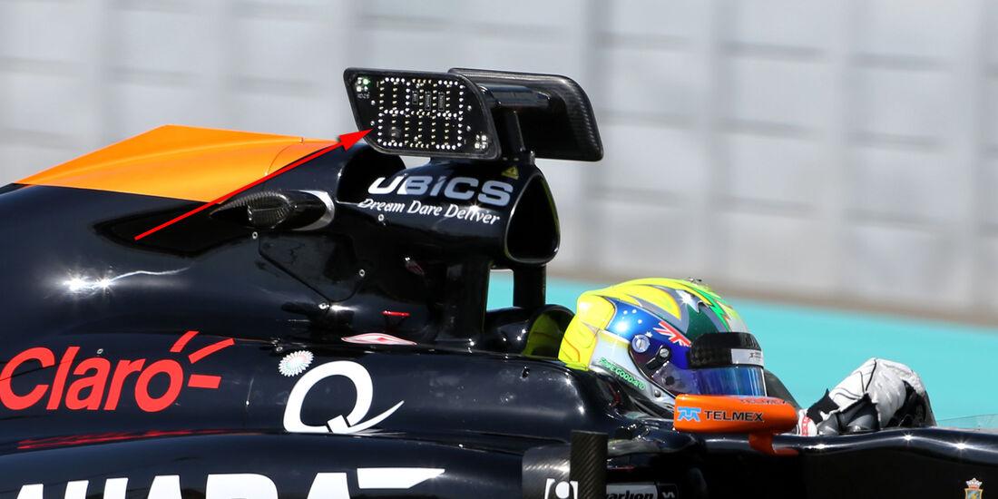 Spike Goddard - Force India - Formel 1 - Test - Abu Dhabi - 26. November 2014