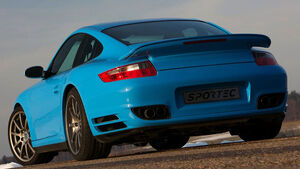 Sportec SP 550, Porsche Turbo, Genf 2009