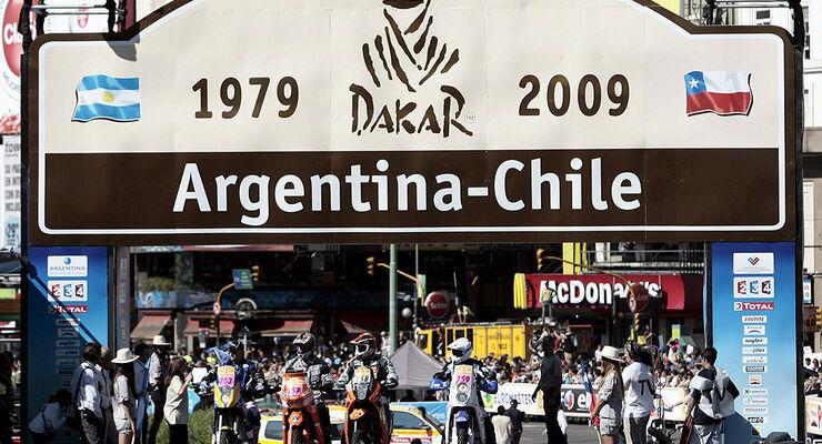 Start Dakar 2009