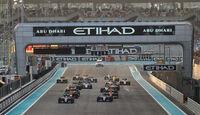 Start - Formel 1 - GP Abu Dhabi 2016