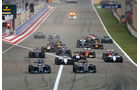 Start - Formel 1 - GP Bahrain 2014