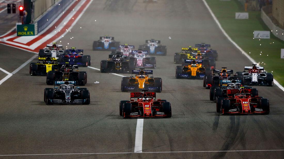 Start - Formel 1 - GP Bahrain 2019