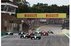 Start - Formel 1 - GP Brasilien- 15. November 2015