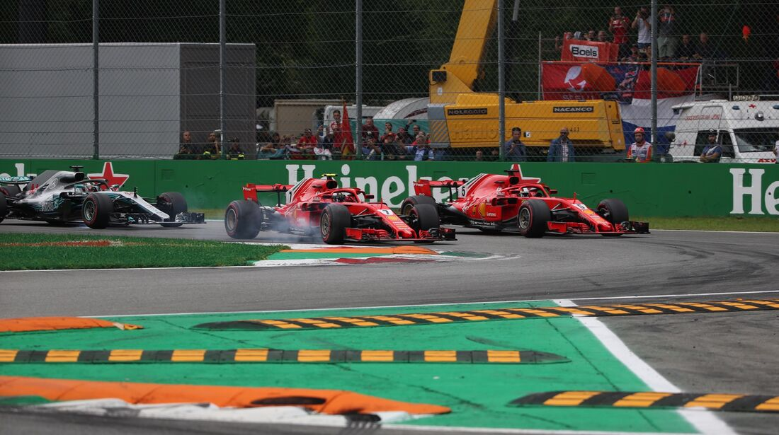 Start - Formel 1 - GP Italien - 02. September 2018