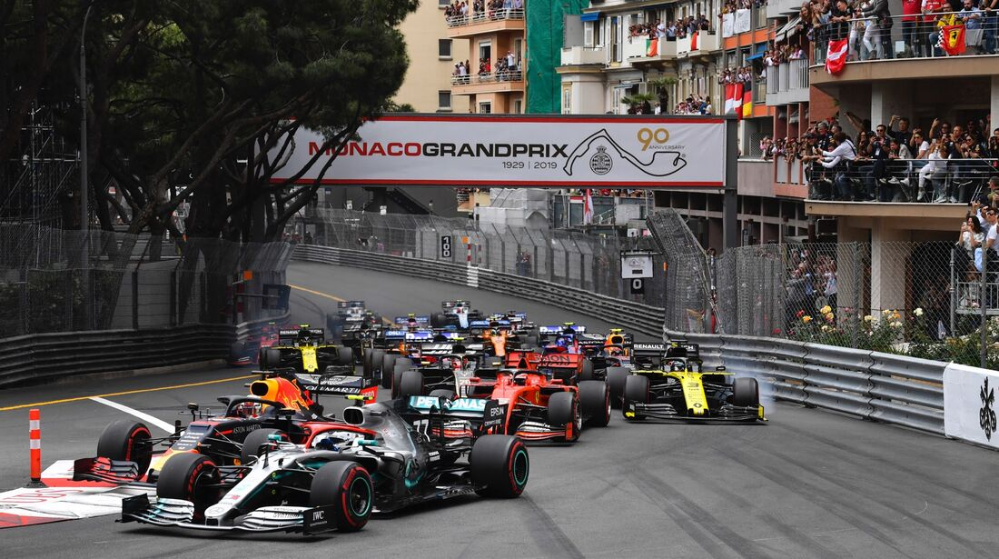 Start - Formel 1 - GP Monaco - 26. Mai 2019