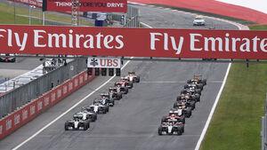 Start - Formel 1 - GP Österreich 2015