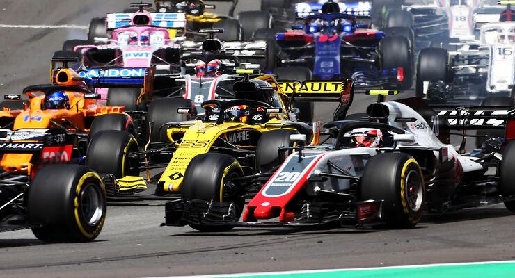 Start - Formel 1 - GP Spanien 2018