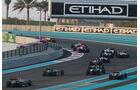 Start - GP Abu Dhabi 2014