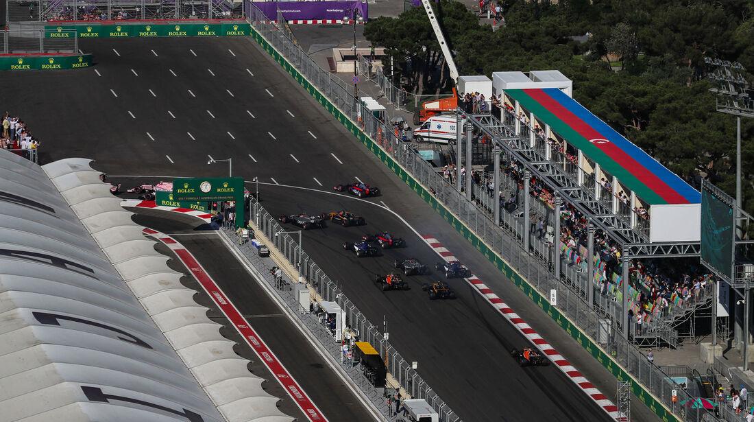 Start - GP Aserbaidschan 2017 - Baku - Rennen