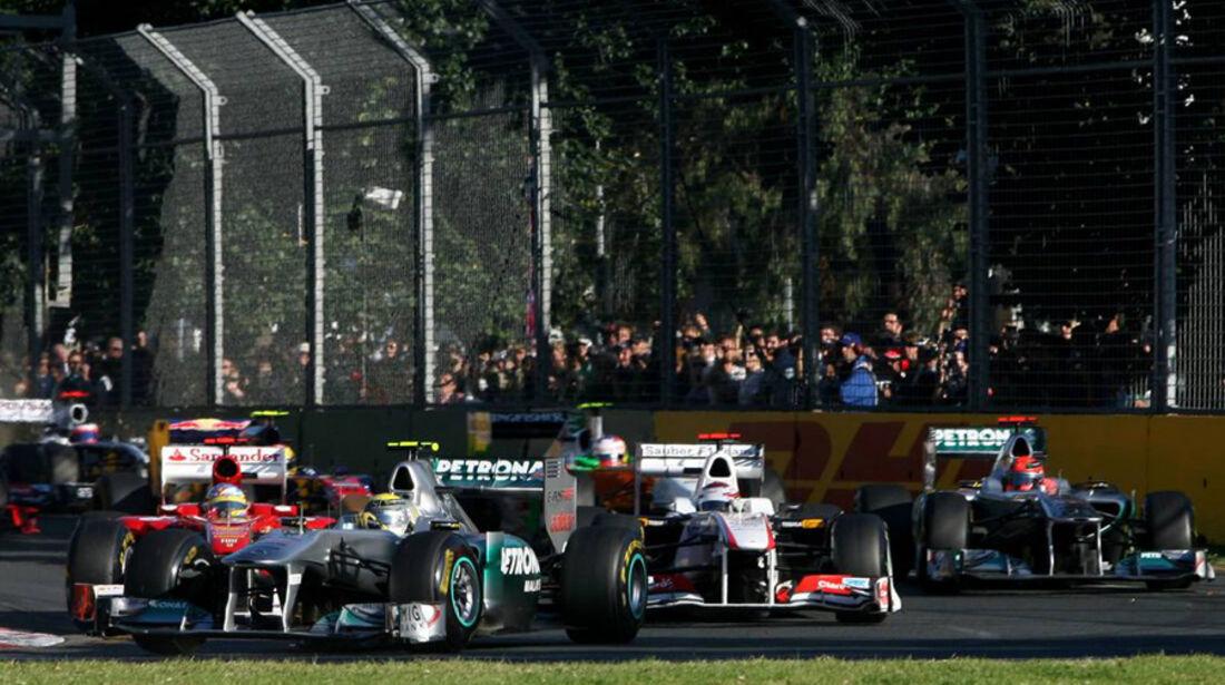 Start GP Australien 2011