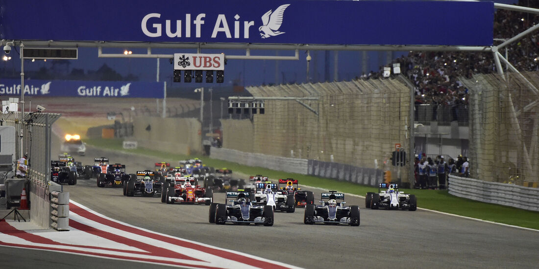 Start - GP Bahrain 2016