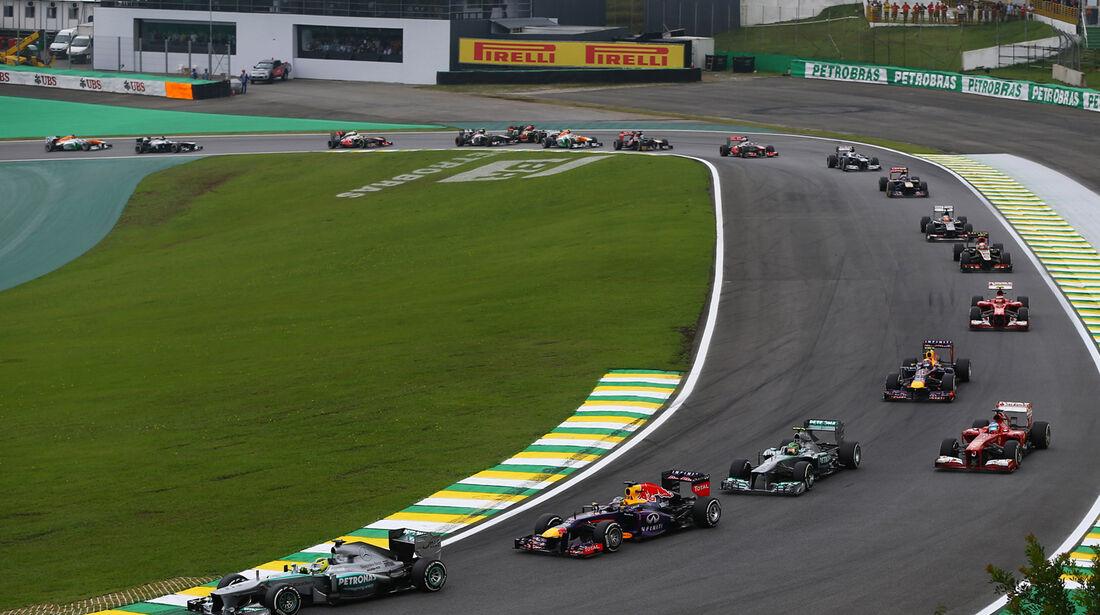 Start - GP Brasilien 2013