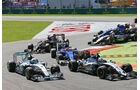 Start - GP Italien 2015 - Monza