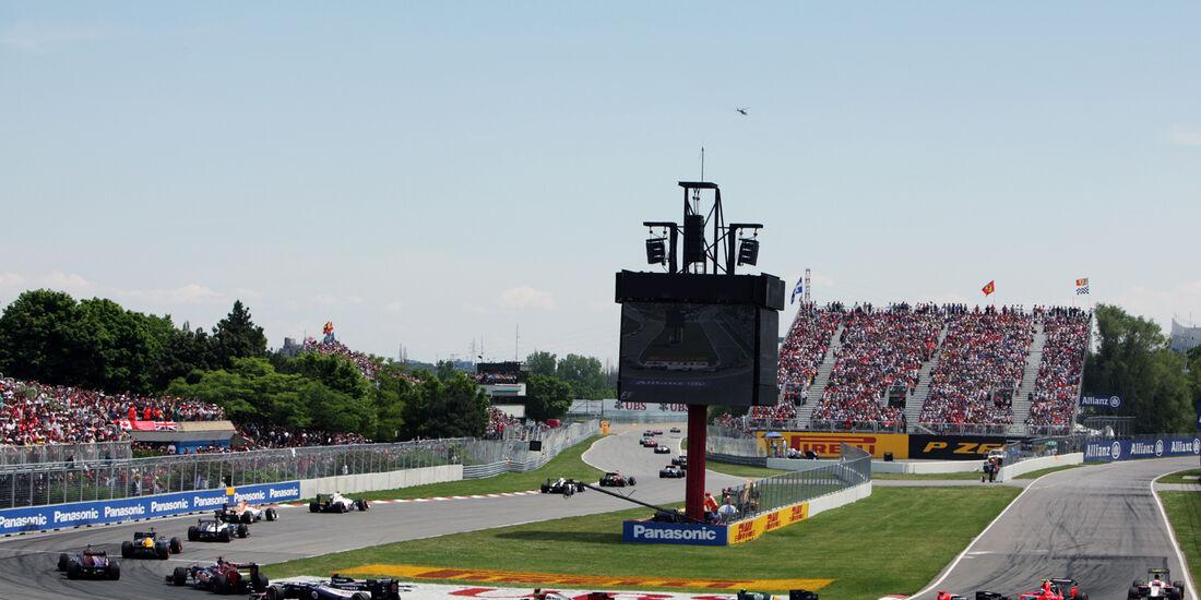 Start GP Kanada 2012