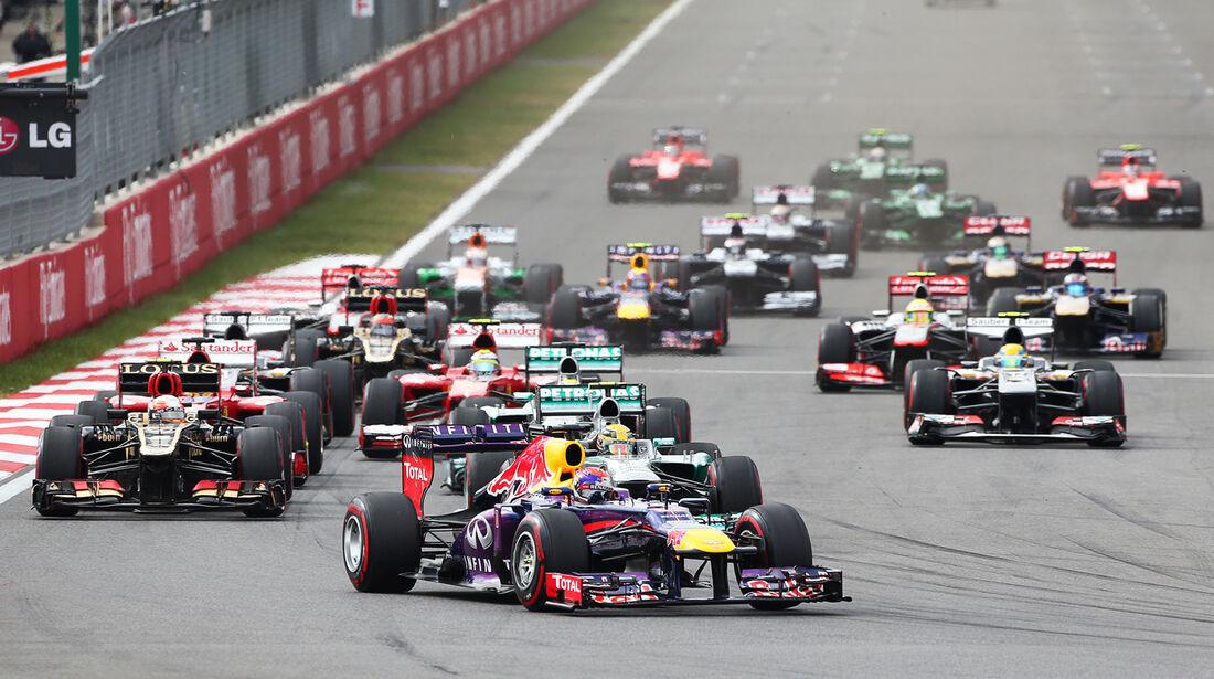 Start - GP Korea 2013
