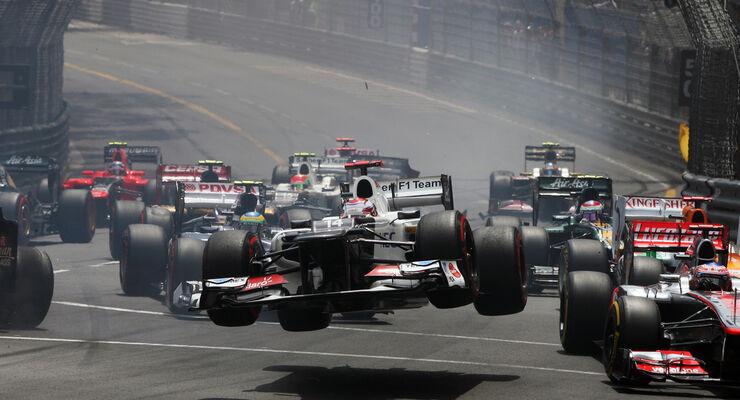 Start GP Monaco 2012