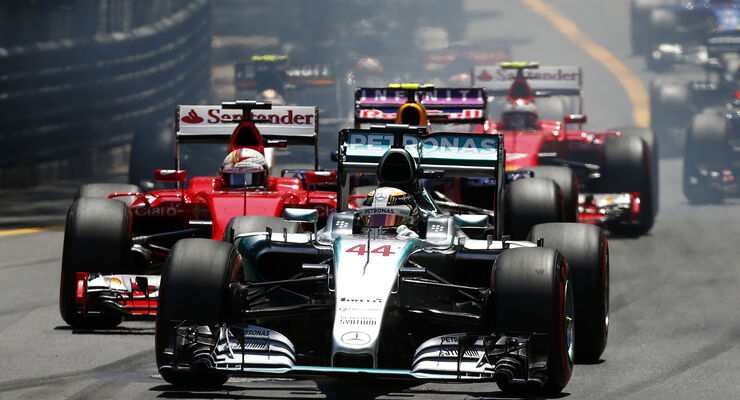 Start - GP Monaco 2015