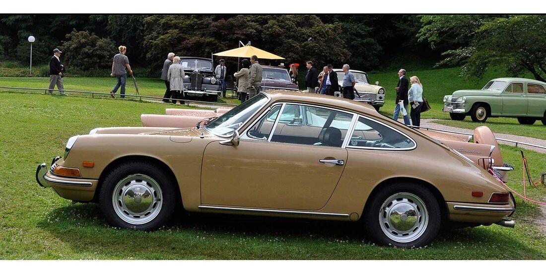 Startnummer 117: Markus Haub und Thomas Sälzle im Porsche 911, 2 Liter, 6-Zyl. Boxer, 130 PS, Baujahr 1968.