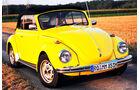 Startnummer 132: Ulrich und Maximilian Haupt im Volkswagen 1302 LS, 1,8 Liter, 4-Zyl. Boxer, 70 PS, Baujahr 1971.