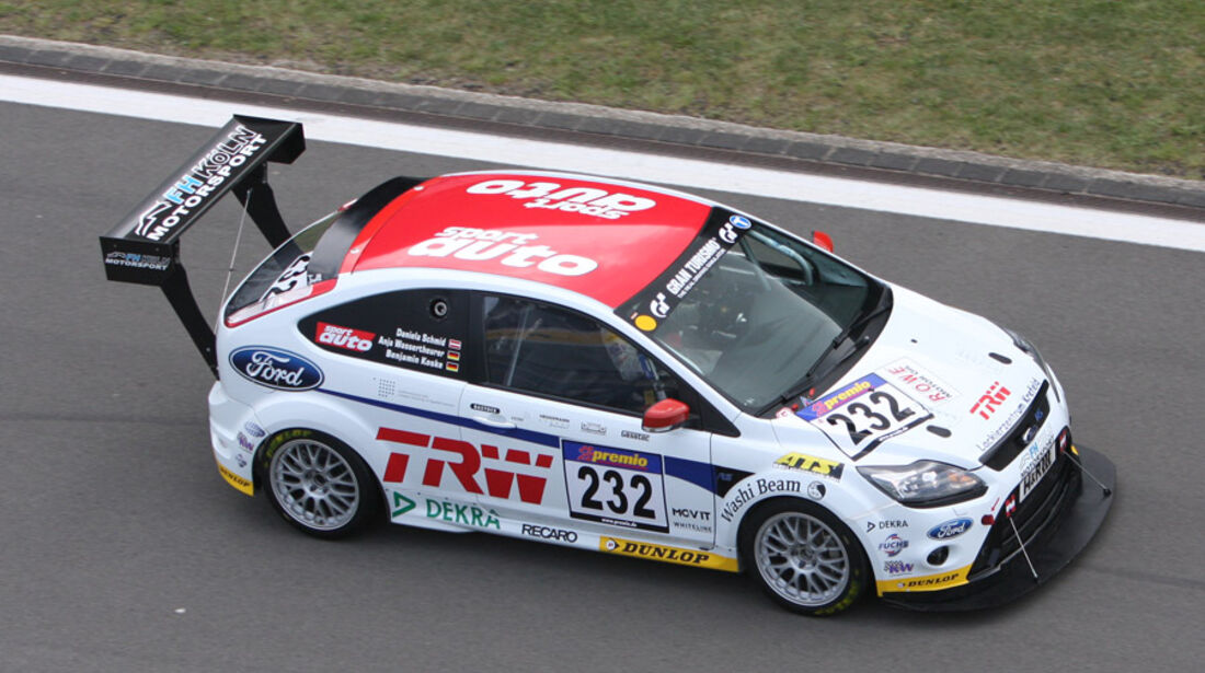 Startnummer #232, VLN, Langstreckenmeisterschaft Nürburgring, 2011