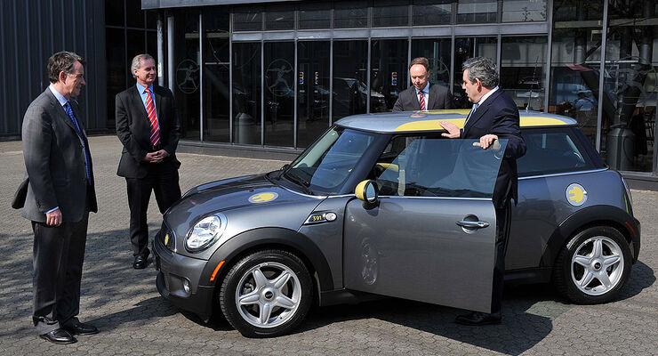 Startschuss für den Mini E in Großbritannien