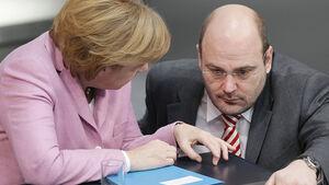 Steffen Kampeter, Angela Merkel, CDU