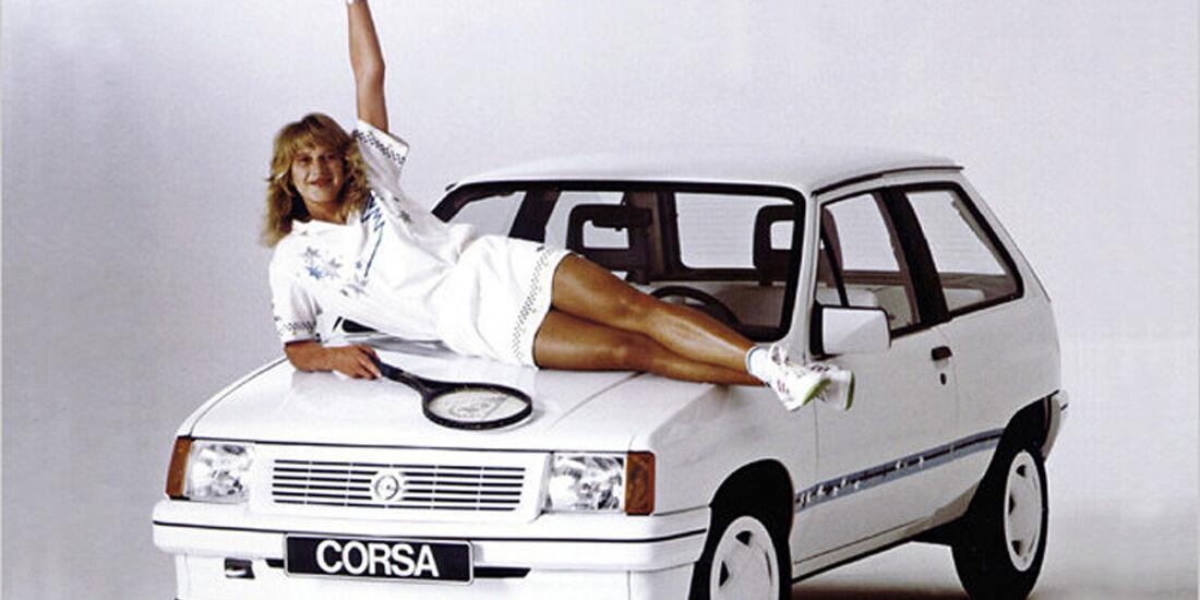 Steffi Graf Opel