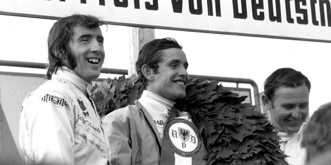 Stewart, Ickx & McLaren - GP Deutschland 1968