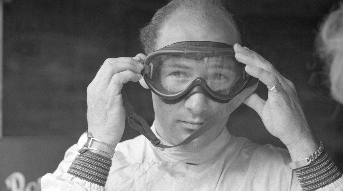 Stirling Moss, Rennbrille