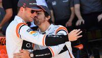 Stoffel Vandoorne - Fernando Alonso - McLaren - Formel 1 - GP Brasilien - 12. November 2017