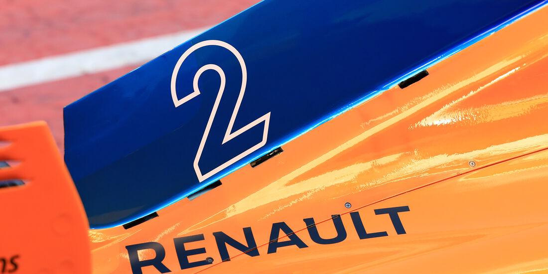 Stoffel Vandoorne - McLaren - F1-Test - Barcelona - Tag 5 - 6. März 2018