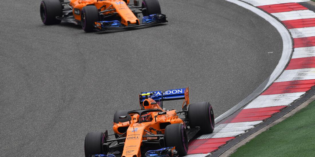 Stoffel Vandoorne - McLaren - Formel 1 - GP China - Shanghai - 14. April 2018