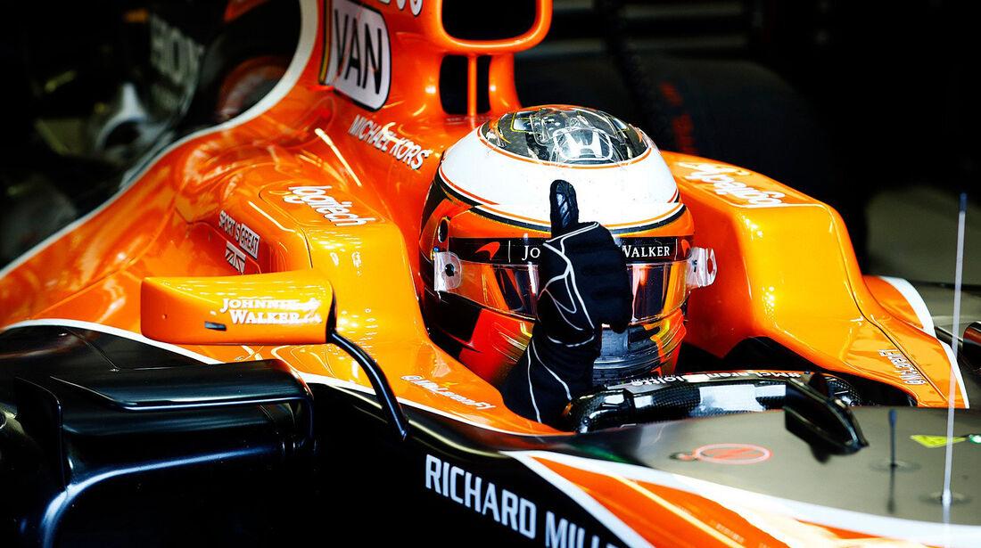 Stoffel Vandoorne - McLaren - Formel 1 - GP Kanada - Montreal - 9. Juni 2017