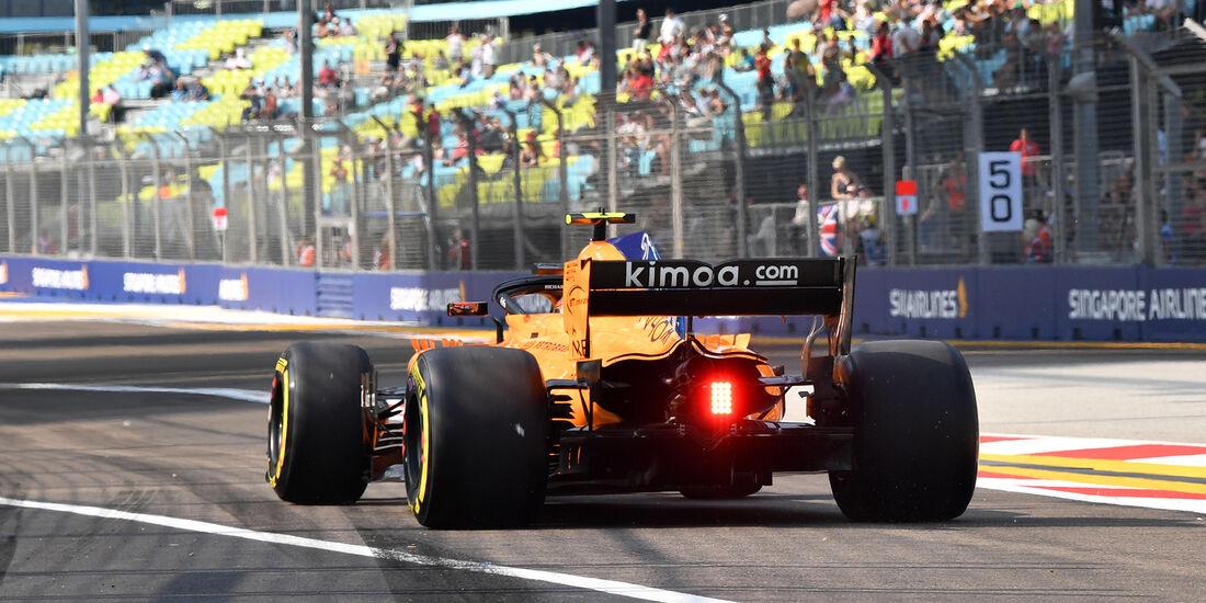Stoffel Vandoorne - McLaren - Formel 1 - GP Singapur - 14. September 2018