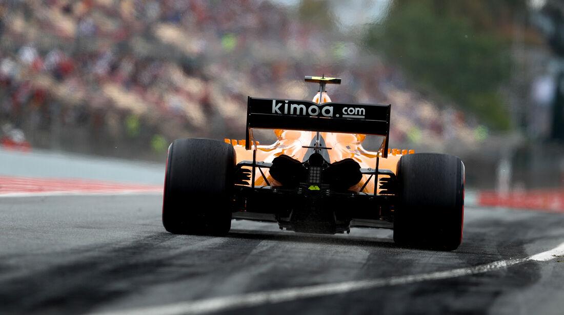 Stoffel Vandoorne - McLaren - Formel 1 - GP Spanien - Barcelona - 12. Mai 2018
