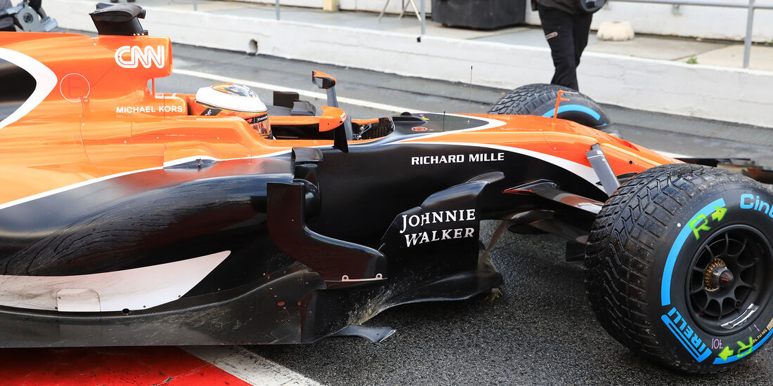 Stoffel Vandoorne - McLaren - Formel 1 - Test - Barcelona - 2. März 2017