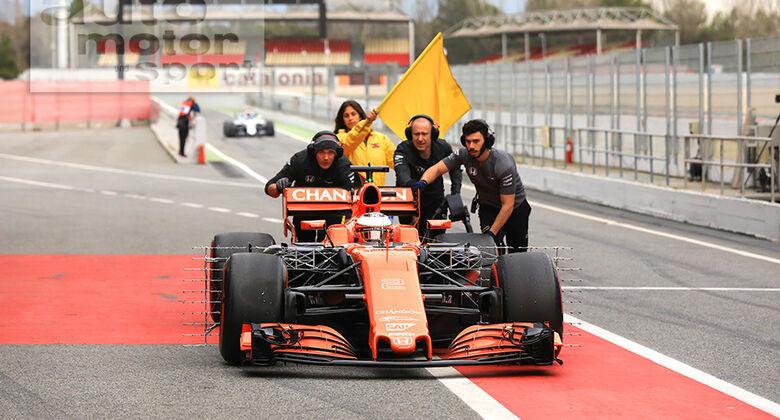 Stoffel Vandoorne - McLaren - Formel 1-Test - Barcelona - 28. Februar 2017
