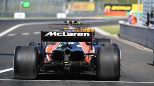 Stoffel Vandoorne - McLaren-Honda - GP Ungarn - Budapest - Formel 1 - 28.7.2017