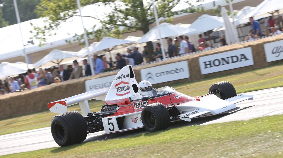 Stoffel Vandoorne - McLaren M23 - Goodwood 2013