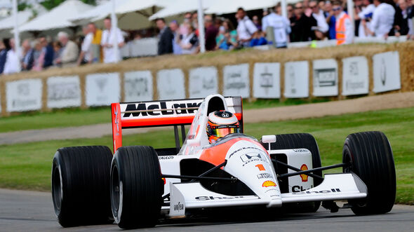 Stoffel Vandoorne - McLaren MP4/6 - FoS - Goodwood 2016
