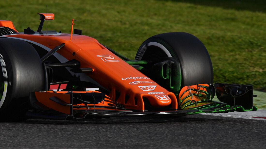 Stoffel Vandorrne - McLaren - Formel 1 - Test - Barcelona - 7. März 2017