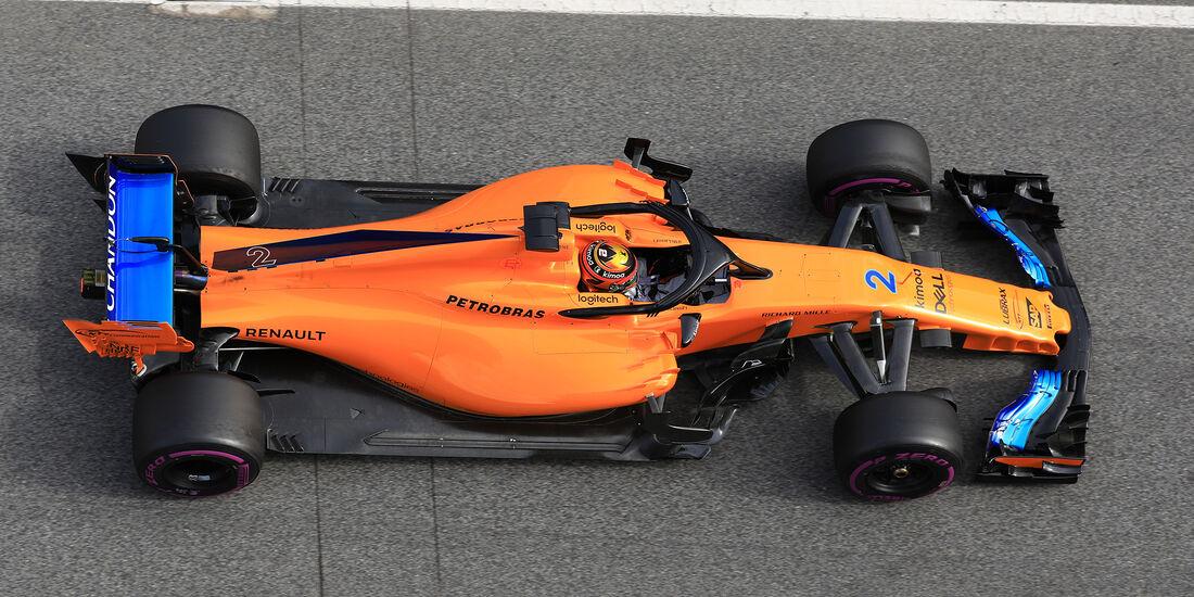 Stoffen Vandoorne - McLaren - F1-Test - Barcelona - Tag 7 - 8. März 2018