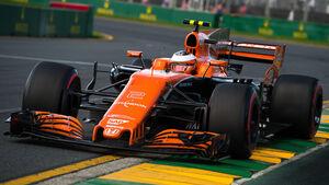 Stoffen Vandoorne - McLaren - GP Australien 2017